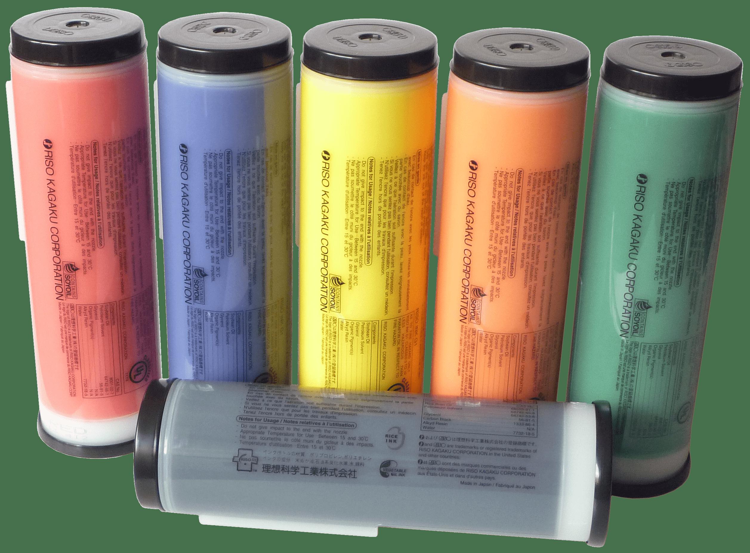materiały eksploatacyjne do RISO farby