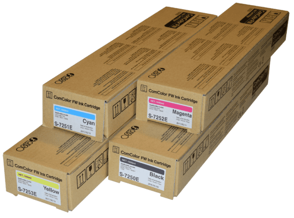 Tusze ComColor -materiały eksploatacyjne do RISO