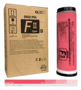 Riso-F-II-type-E-Bright-Red S-8115E