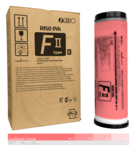 Riso-F-II-type-E-Fluorescent-Orange-S-8129E
