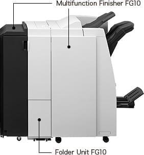 Finiszer wielofunkcyjny z opcją folderowania FG10